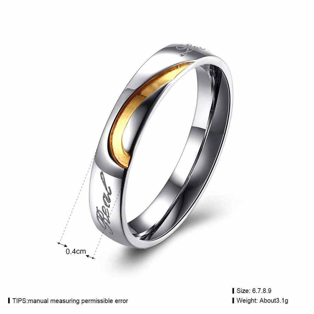 Aliexpress : Buy Megrezen Pair Of Wedding Engagement Rings Pertaining To Engagement Rings Pair (Gallery 7 of 15)
