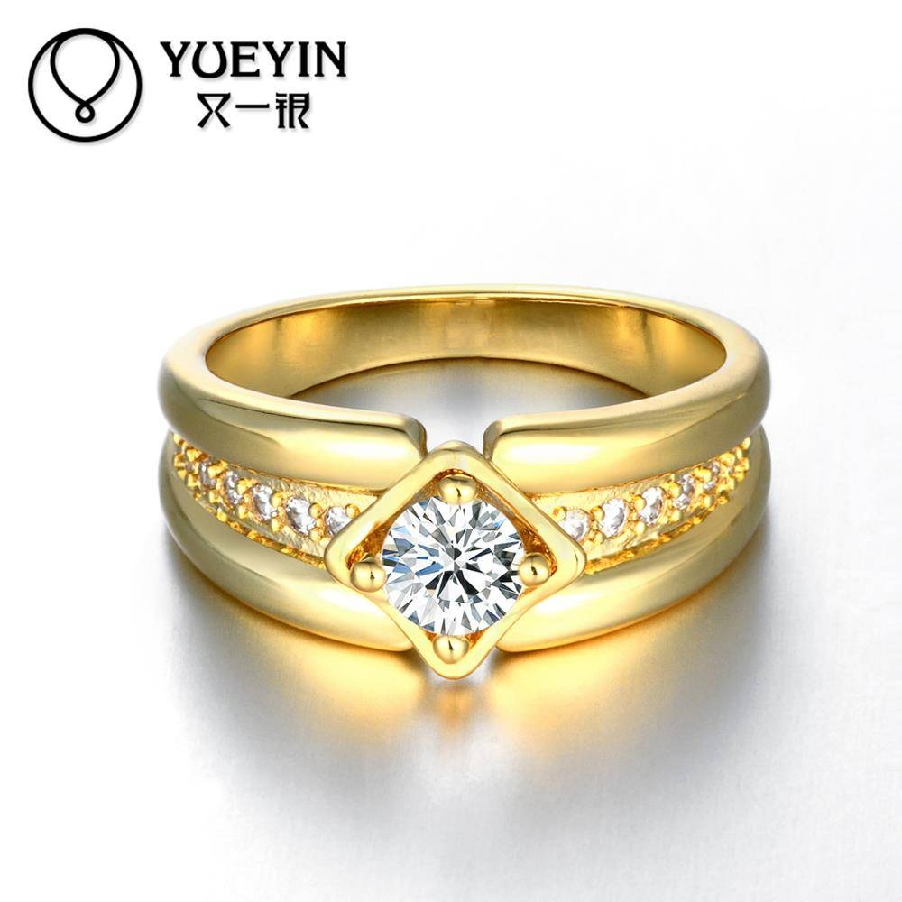 Aliexpress Newest Trendy Male Jewelry Crystal Rings With Regard To 24k Gold Wedding