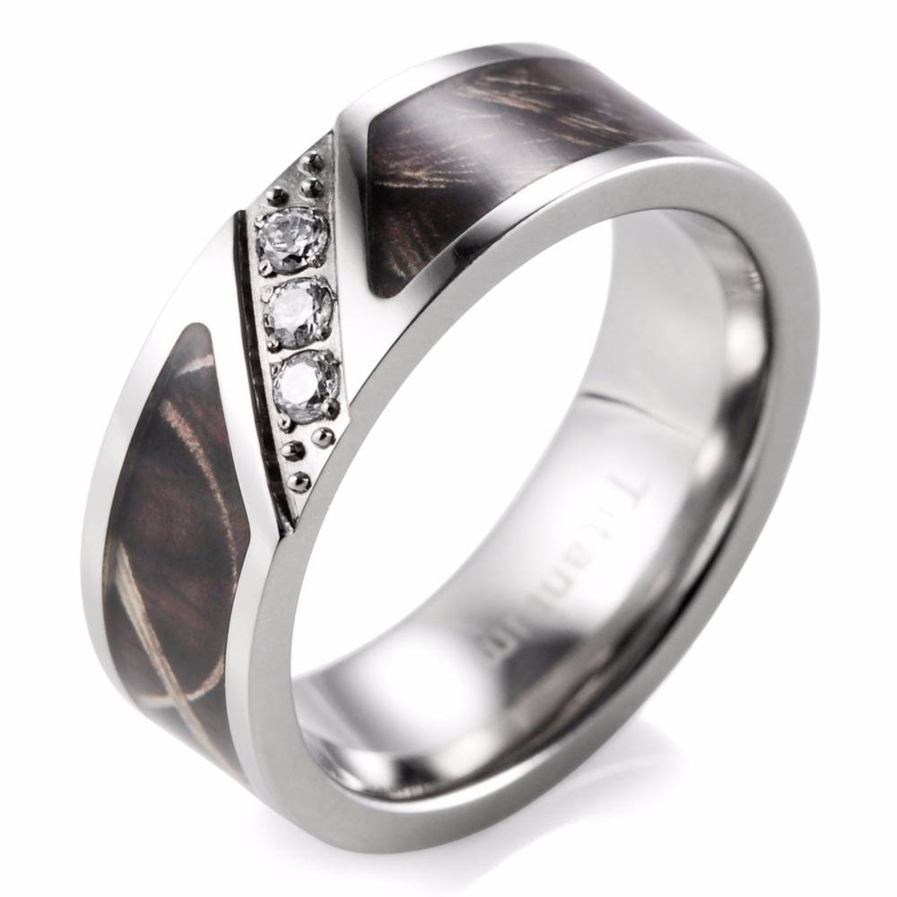 Aliexpress : Buy Shardon 7Mm Realtree Grass Camo Engagement Pertaining To Men's Outdoor Wedding Bands (View 1 of 15)
