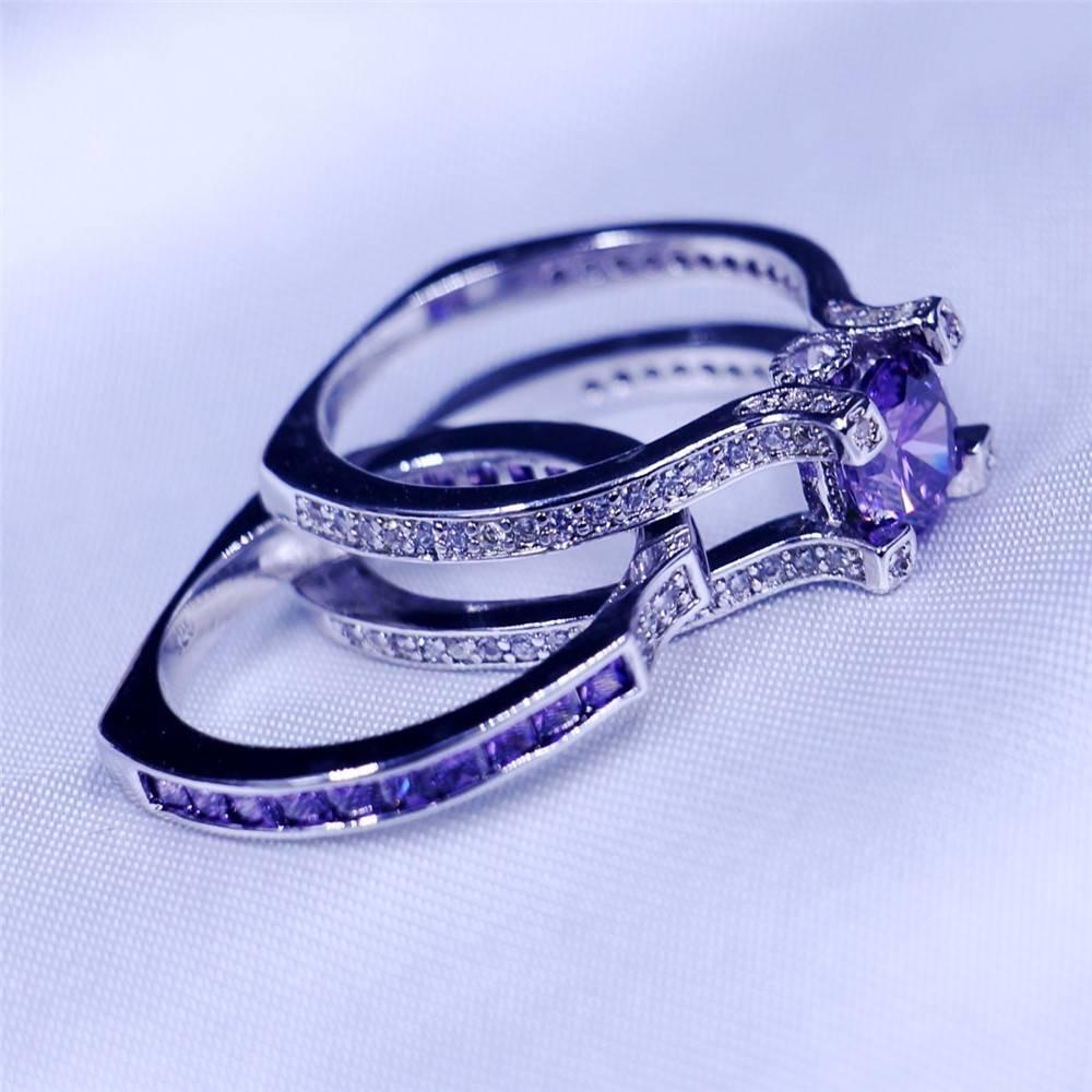 Aliexpress : Buy Vecalon Luxury Jewelry Female Engagement Ring Inside Female Engagement Rings (Gallery 13 of 15)