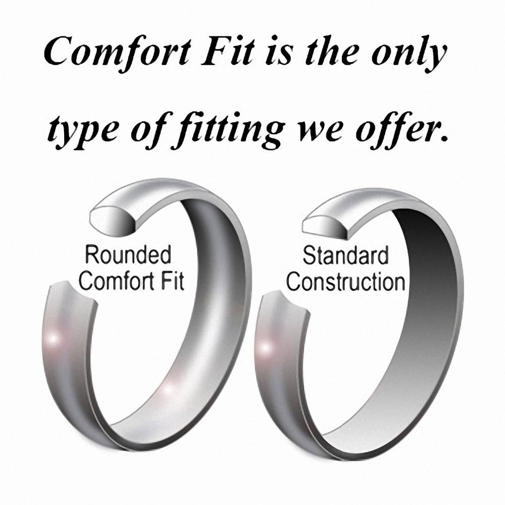 Aliexpress : Buy Yellow Gold Tungsten Carbide Rings Regarding Tungsten Carbide Wedding Bands Pros And Cons (View 1 of 15)