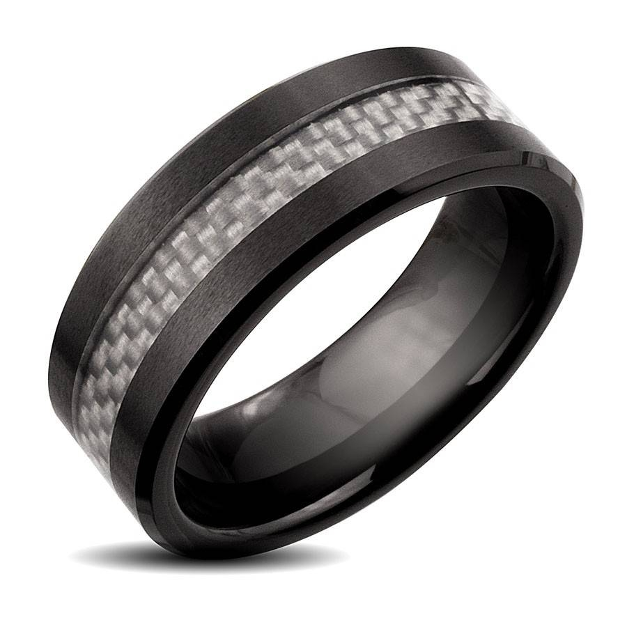 American Hands With Wedding Rings Pictures Wedding Hands Black Throughout Black And Silver Wedding Bands (Gallery 11 of 15)