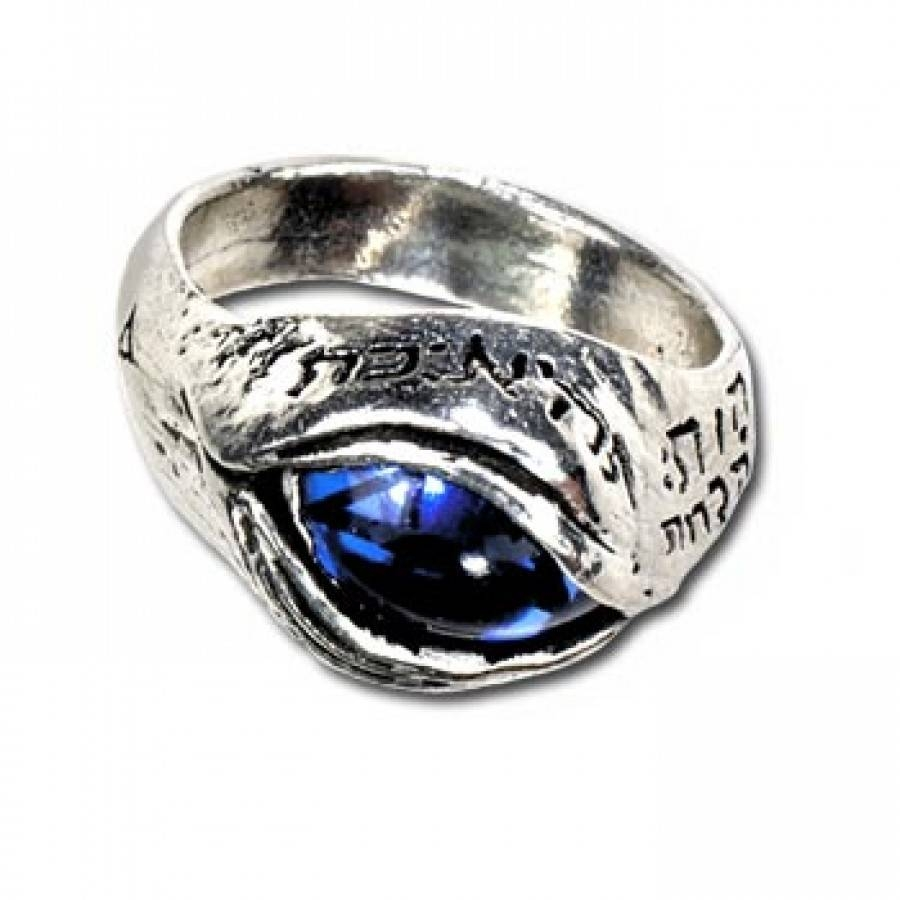Angels Eye Pewter Gothic Ring – Gothic Jewelry, Eye Jewelry In Pagan Engagement Rings (View 3 of 15)