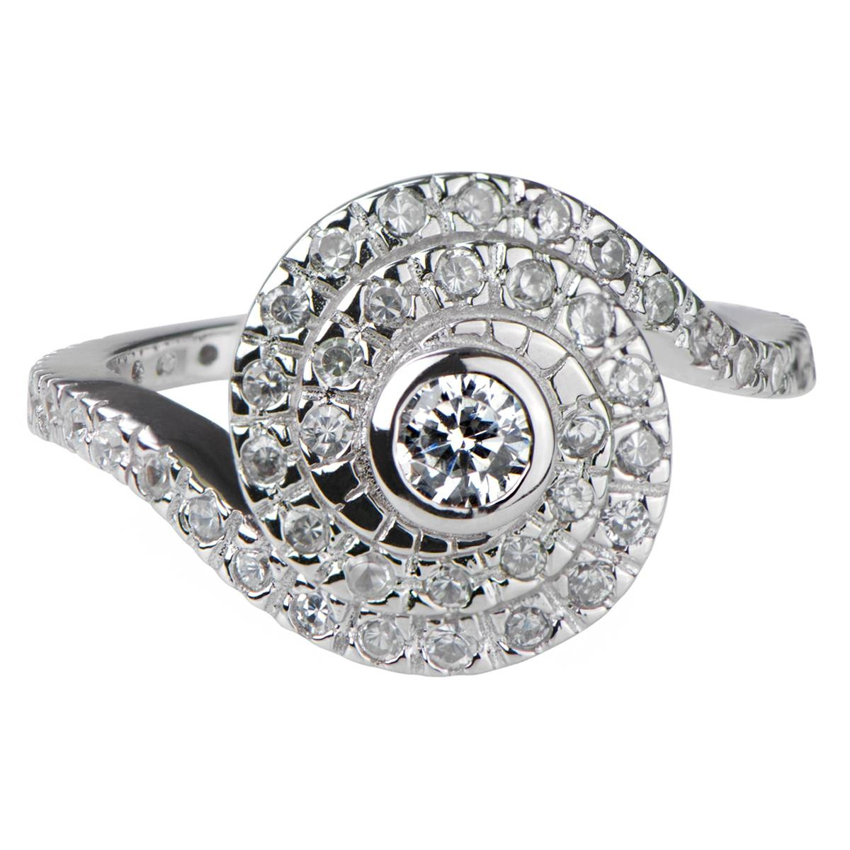 Featured Photo of Spiral Engagement Rings