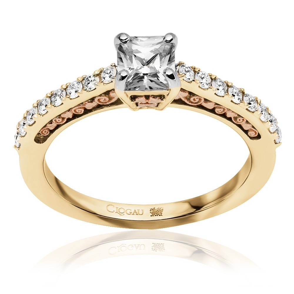 Aria Engagement Ring | Clogau Gold Inside Welsh Engagement Rings (View 5 of 15)