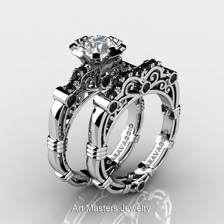 Art Masters Caravaggio 14K White Gold  (View 3 of 15)