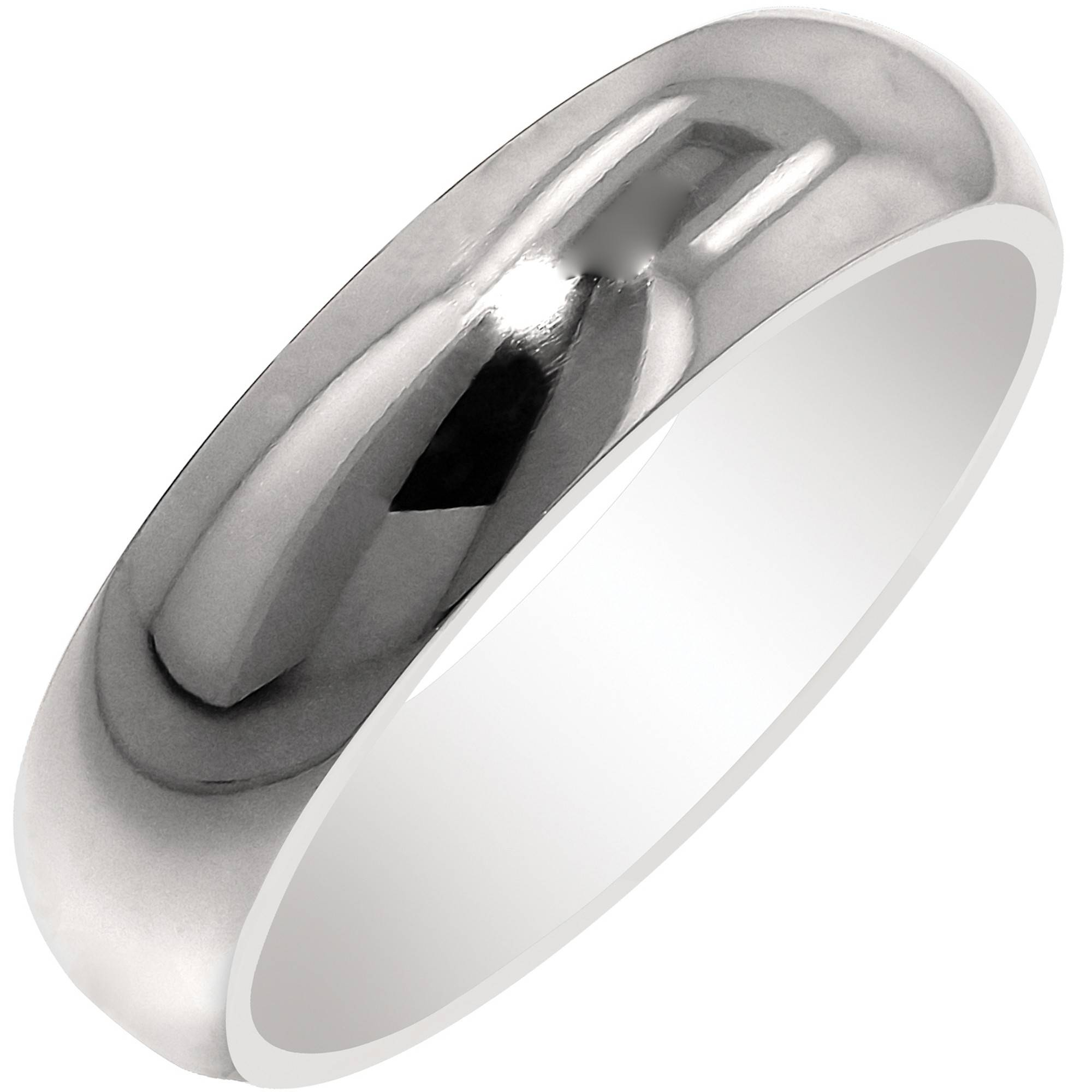 Artcarved Honor Mens Plain Wedding Band In Titanium (6mm) Inside Titanium Mens Wedding Bands (View 13 of 15)