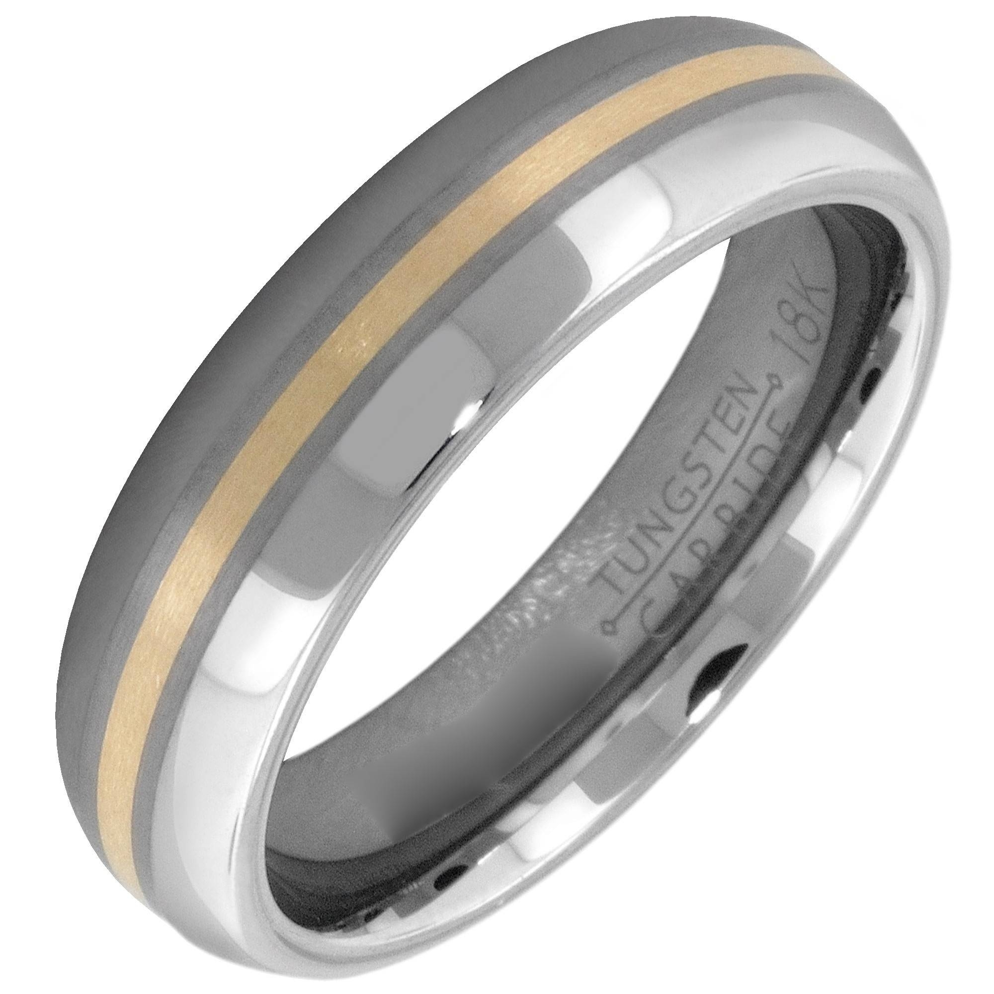 Artcarved Momento Mens Wedding Band In Tungsten Carbide (6Mm) For Artcarved Men Wedding Bands (Gallery 10 of 15)