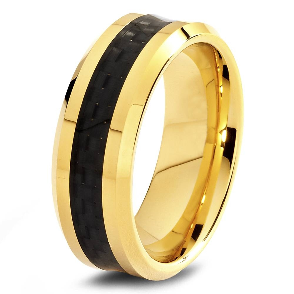 Arti Jewellers – Bands Pertaining To Black And Gold Mens Wedding Bands (View 3 of 15)
