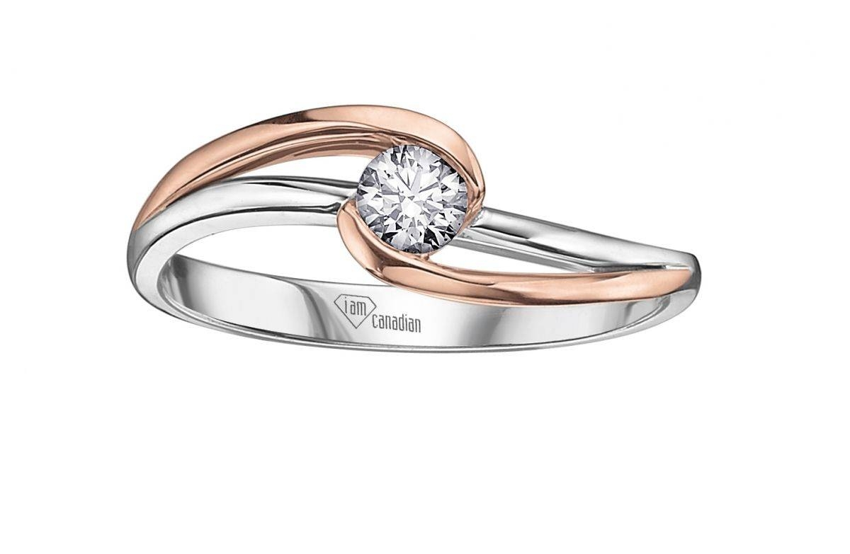 Awesome Rose And White Gold Wedding Rings With Browse More Photos In Rose And White Gold Wedding Rings (View 10 of 15)