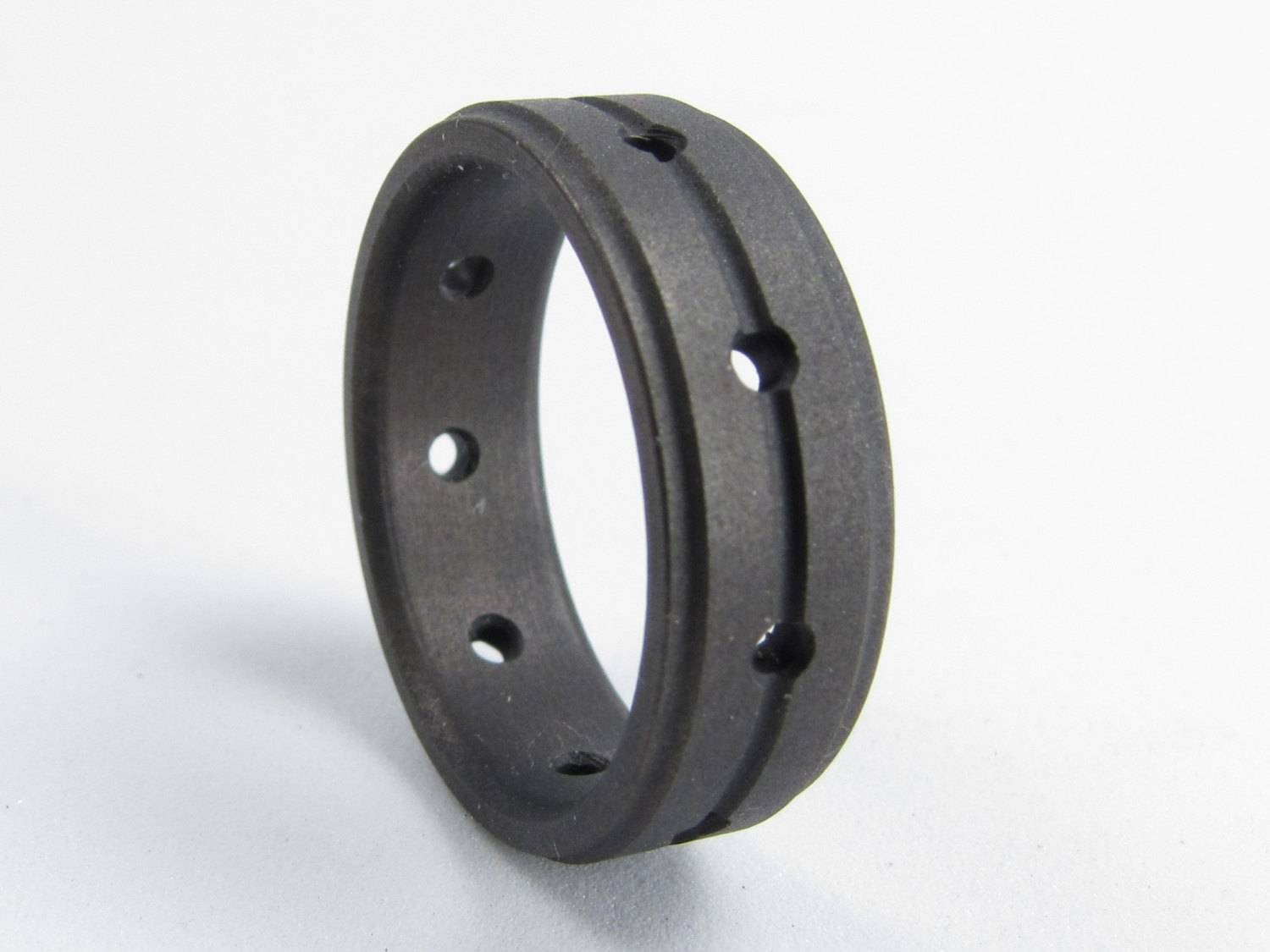 Axiom Matte Black Black Titanium Men's Wedding Band For Matte Black Mens Wedding Bands (View 11 of 15)