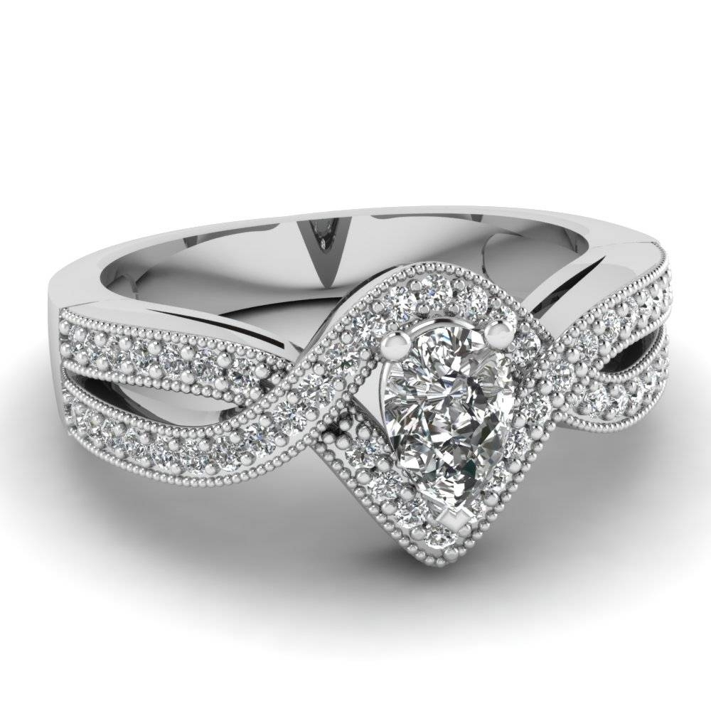 Beautiful Infinity Engagement Rings | Fascinating Diamonds Throughout Unusual Diamond Wedding Rings (View 4 of 15)