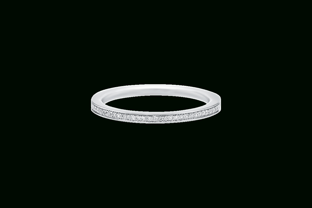 Belle Diamond Wedding Band | Harry Winston With Regard To Harry Winston Wedding Bands Price (View 3 of 15)