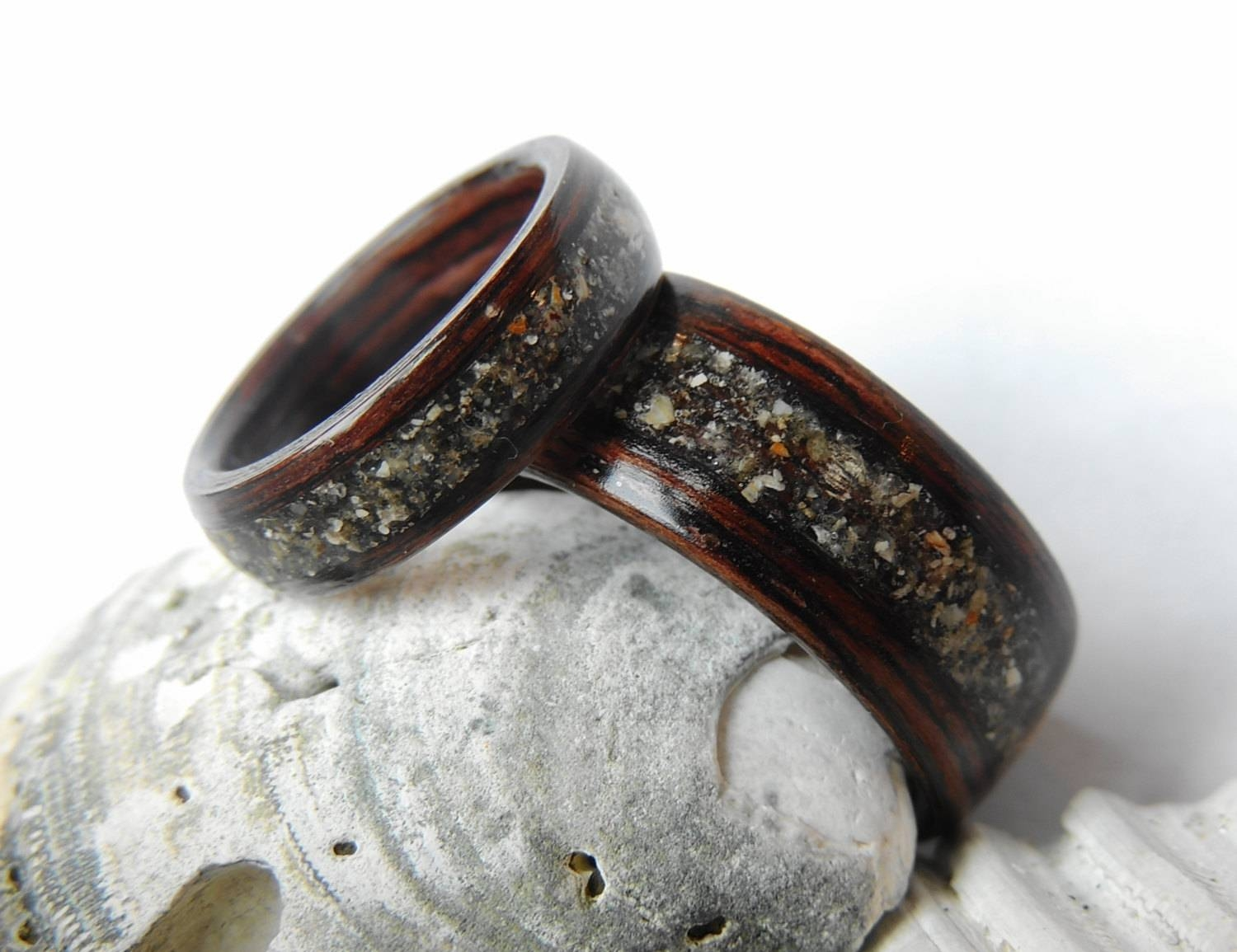 craft grey about zebrano ring dinosaur bentwood maple silver rings things wood me bone bent with meteorite wedding rosewood inlays wooden and other