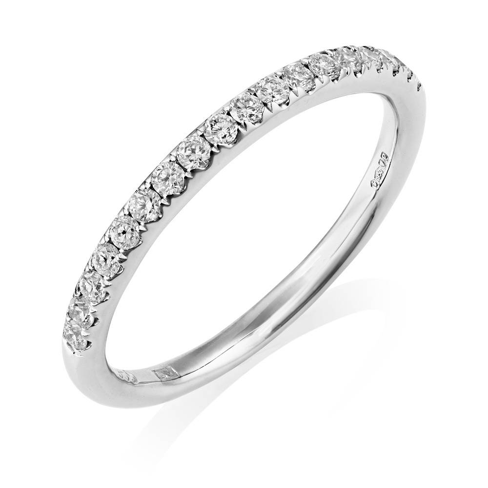Berry's Platinum Set Gia Diamond Cluster Ring & Matching Wedding Band Throughout Diamond Cluster Wedding Rings (View 4 of 15)