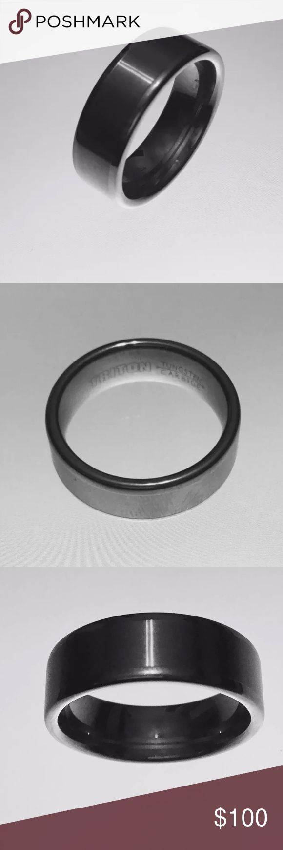 Best 10+ Tungsten Carbide Ideas On Pinterest | Tungsten Carbide In Tungsten Carbide Wedding Bands Pros And Cons (View 2 of 15)