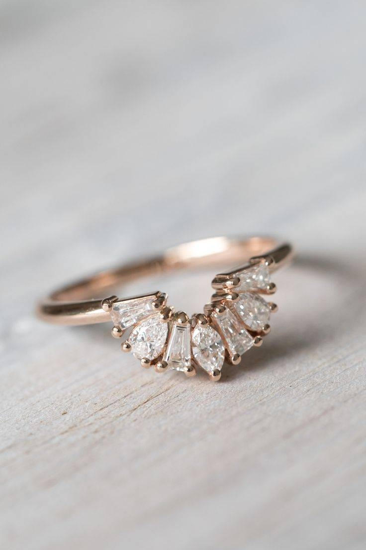 Best 10+ Unique Wedding Bands For Women Ideas On Pinterest | Rose Within Intertwined Wedding Bands (View 1 of 15)