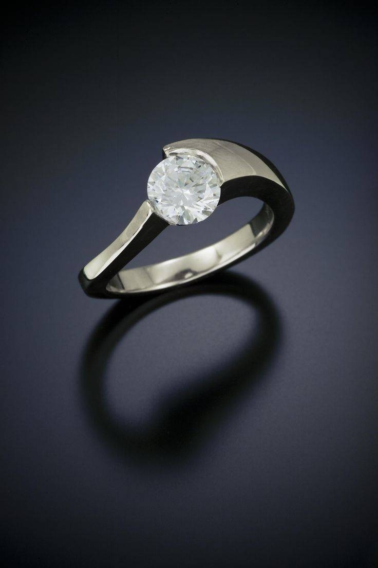Best 20+ Contemporary Engagement Rings Ideas On Pinterest Intended For Modern Design Wedding Rings (View 2 of 15)