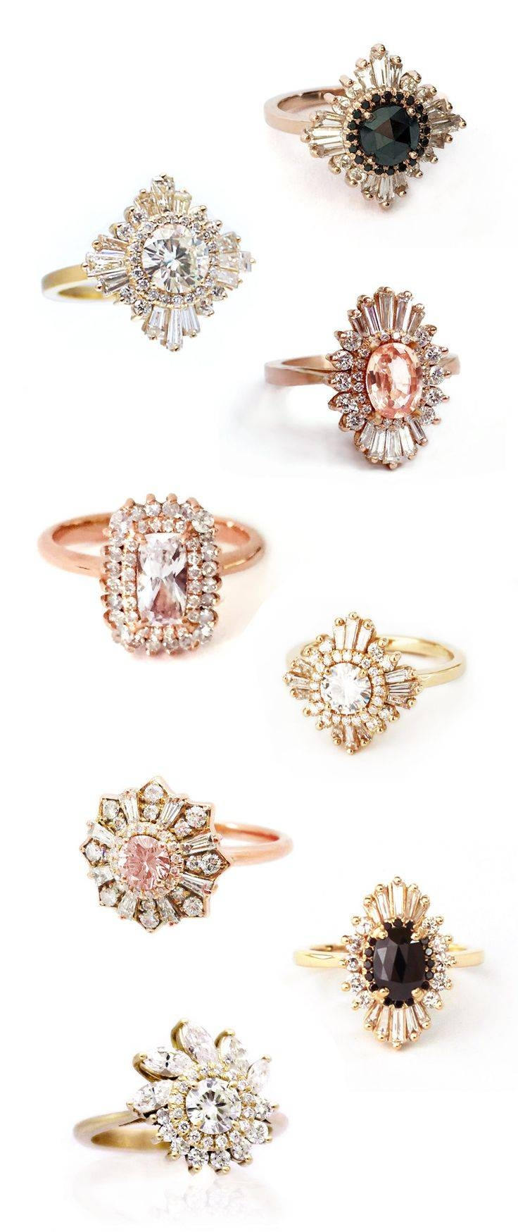 Best 25+ Alternative Wedding Rings Ideas Only On Pinterest In Artsy Wedding Rings (View 7 of 15)