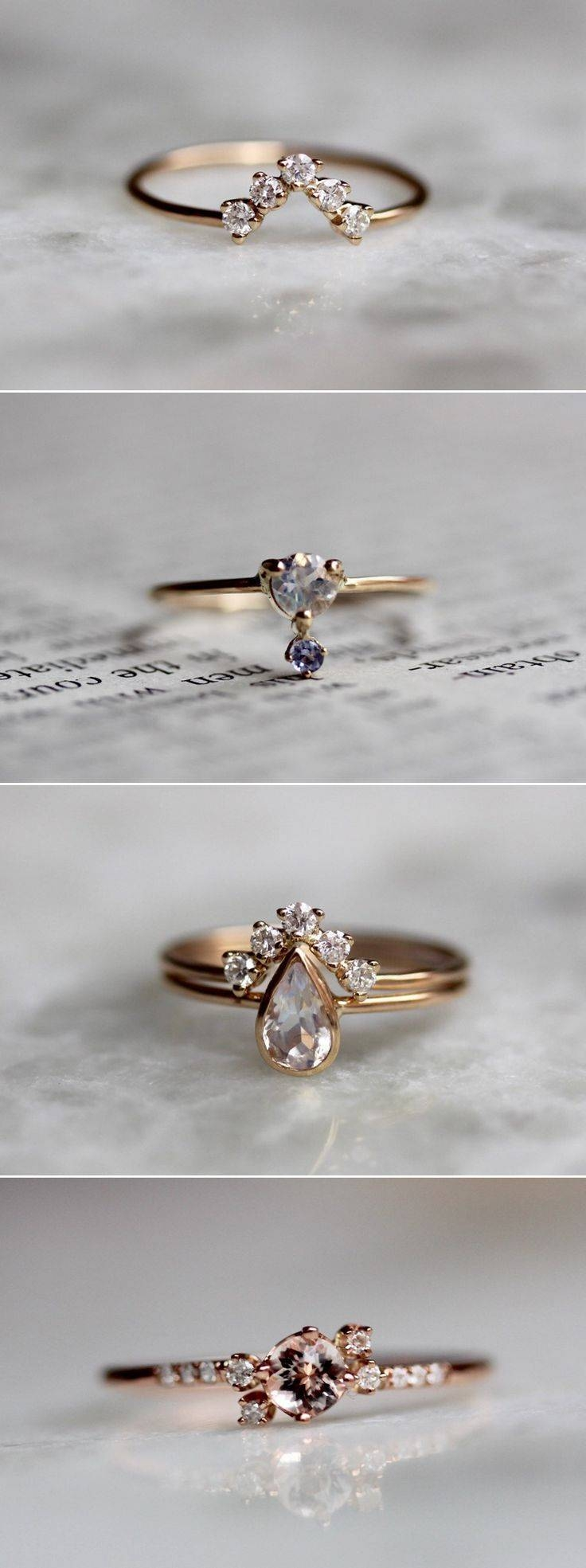Best 25+ Alternative Wedding Rings Ideas Only On Pinterest Pertaining To Artsy Wedding Rings (View 8 of 15)