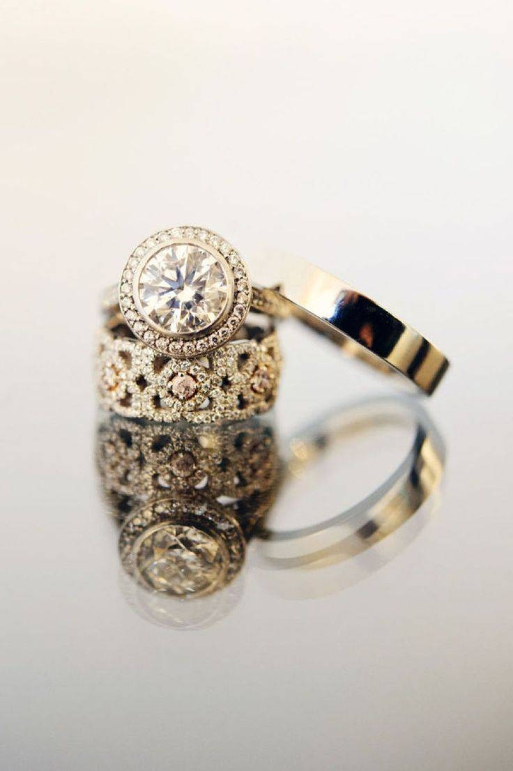 Best 25+ Anniversary Bands For Her Ideas Only On Pinterest With Wide Wedding Bands For Her (View 6 of 15)