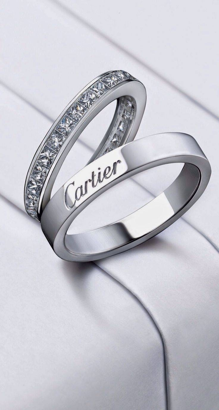 Best 25+ Cartier Wedding Rings Ideas On Pinterest | Cartier With Cartier White Gold Wedding Bands (View 1 of 15)