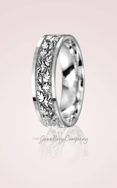 Best 25+ Celtic Wedding Rings Ideas On Pinterest | Celtic Rings In Etched Wedding Rings (View 5 of 15)