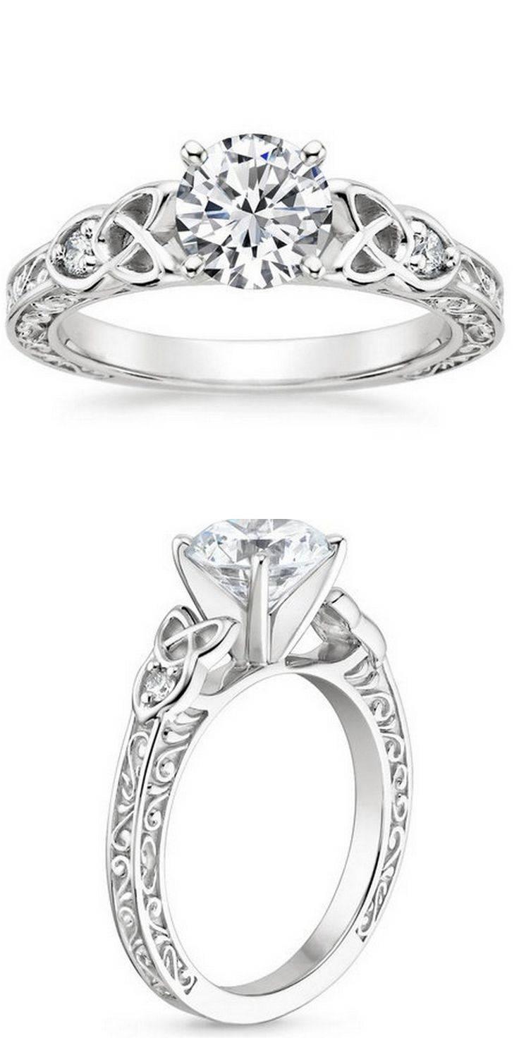 Best 25+ Celtic Wedding Rings Ideas On Pinterest | Celtic Rings Regarding Engagement Wedding Rings (Gallery 15 of 15)