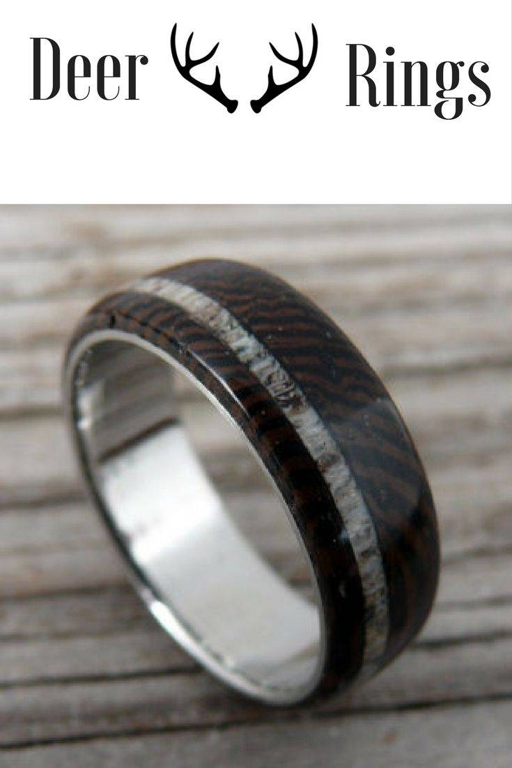 Best 25+ Deer Antler Ring Ideas On Pinterest | Deer Antler Wedding For Duck Hunting Wedding Bands (View 2 of 15)