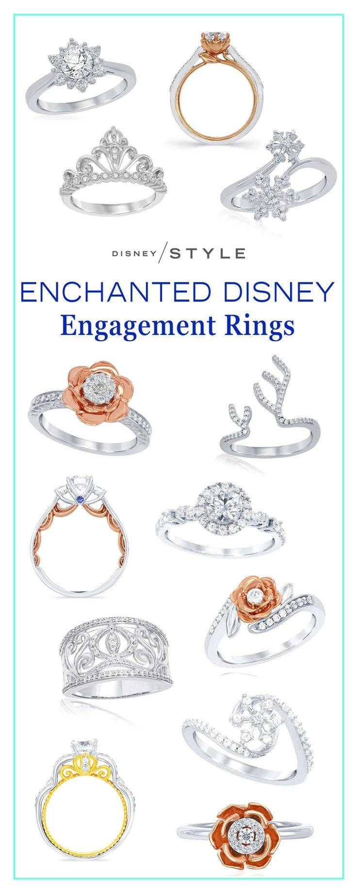 Best 25+ Disney Princess Engagement Rings Ideas On Pinterest Inside Disney Themed Engagement Rings (View 4 of 15)