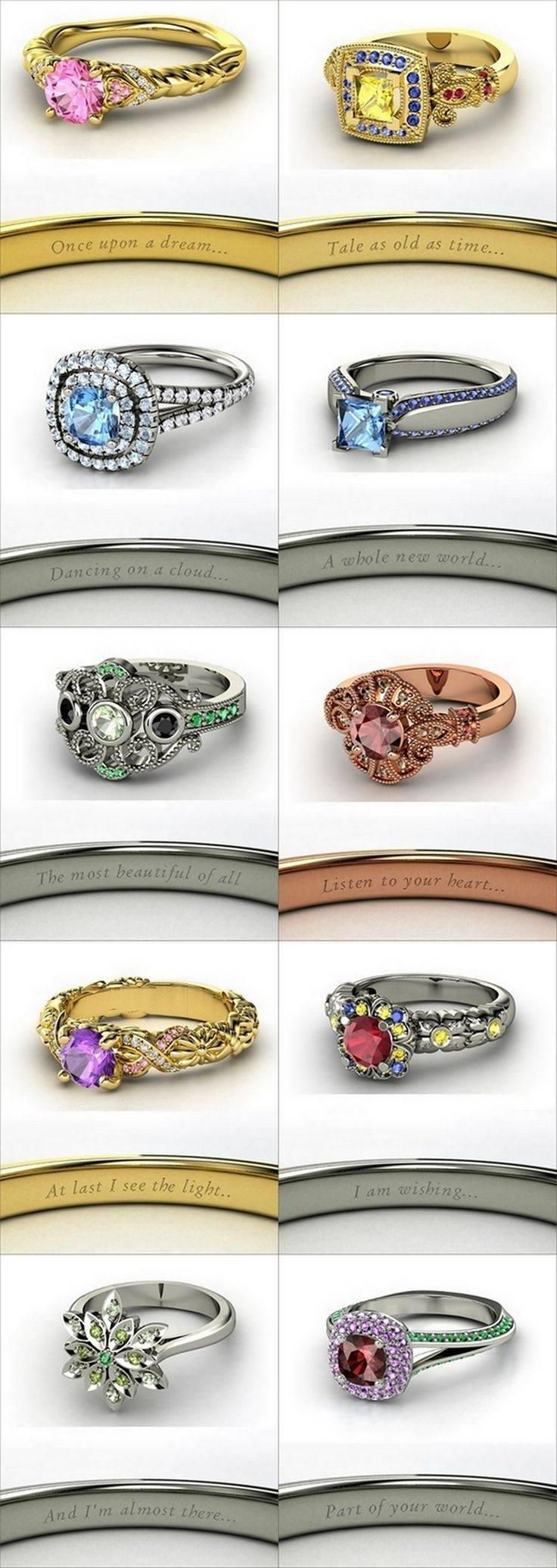 Best 25+ Disney Princess Engagement Rings Ideas On Pinterest Regarding Disney Themed Engagement Rings (View 5 of 15)