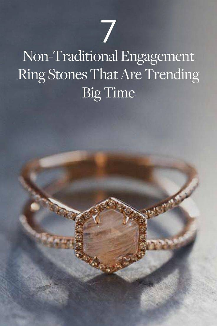 Best 25+ Hexagon Engagement Ring Ideas On Pinterest | Engagement With Traditional Scottish Engagement Rings (View 9 of 15)