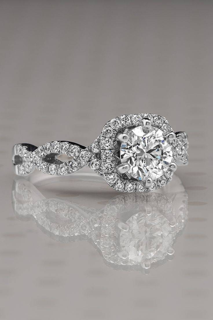 Featured Photo of Infinity Style Engagement Rings
