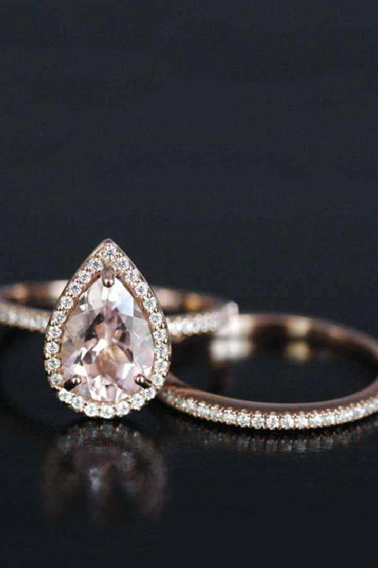 Best 25+ Rose Gold Bands Ideas On Pinterest | Wedding Ring, Gold Within Wedding Rings That Looks Like A Rose (View 4 of 15)