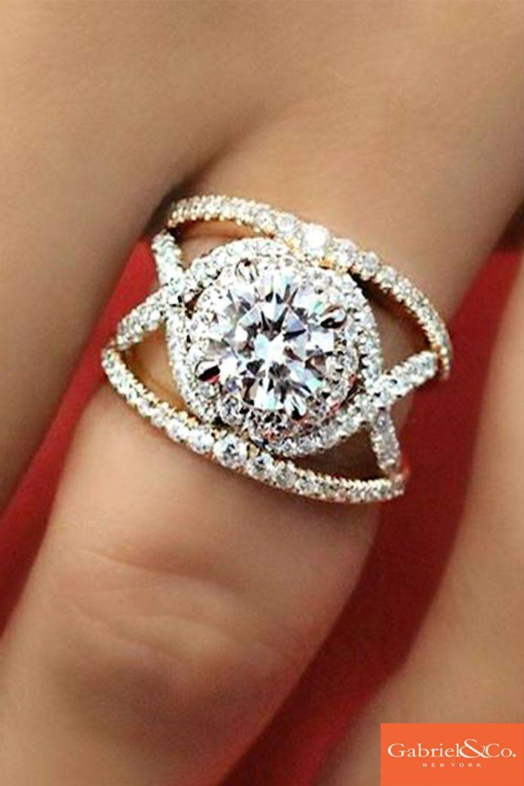 Best 25+ Split Shank Engagement Rings Ideas On Pinterest | Cushion Within Infinity Style Engagement Rings (View 6 of 15)
