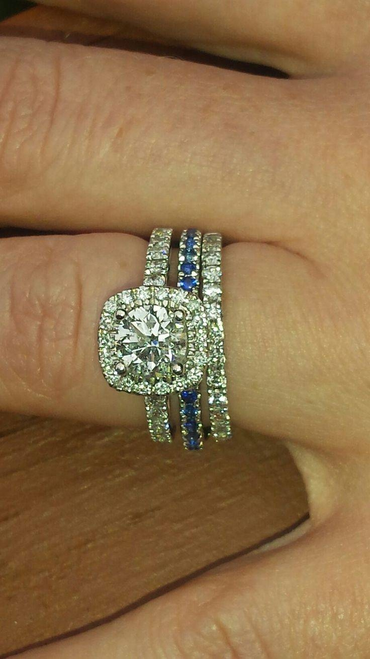 Featured Photo of Blue Line Engagement Rings