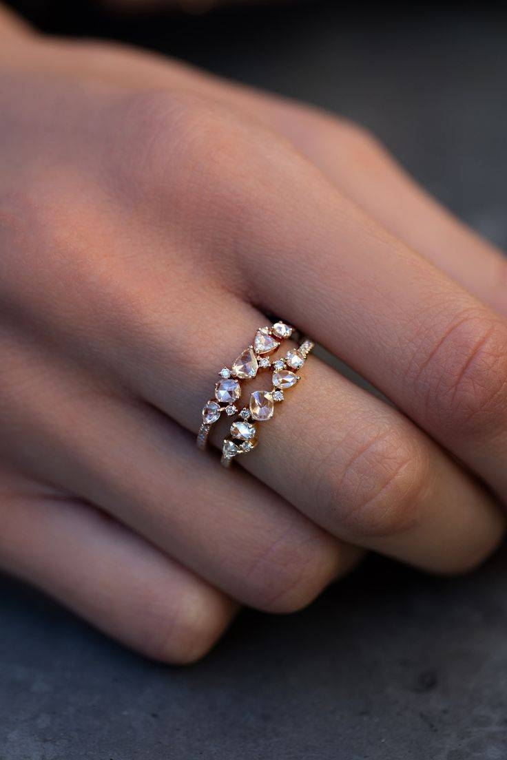 Best 25+ Unique Wedding Bands Ideas On Pinterest | Alternative With Regard To Fun Wedding Rings (View 5 of 15)
