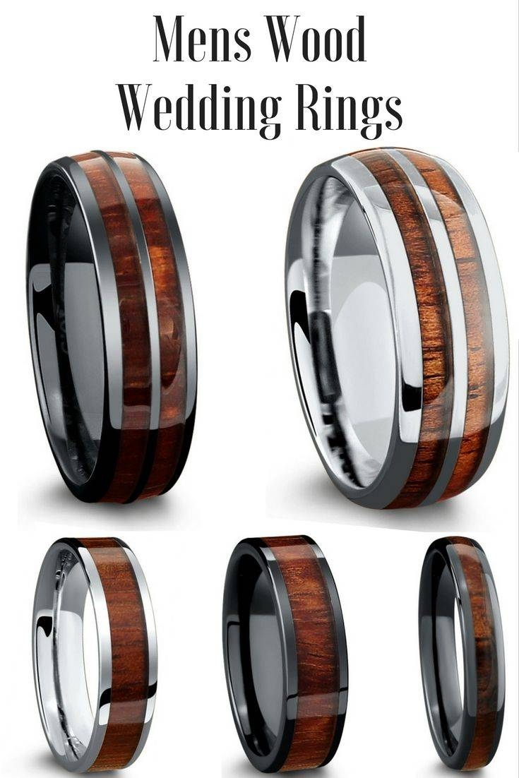 Best 25+ Wedding Bands For Men Ideas Only On Pinterest | Groom With Scratch Resistant Wedding Bands (View 2 of 15)