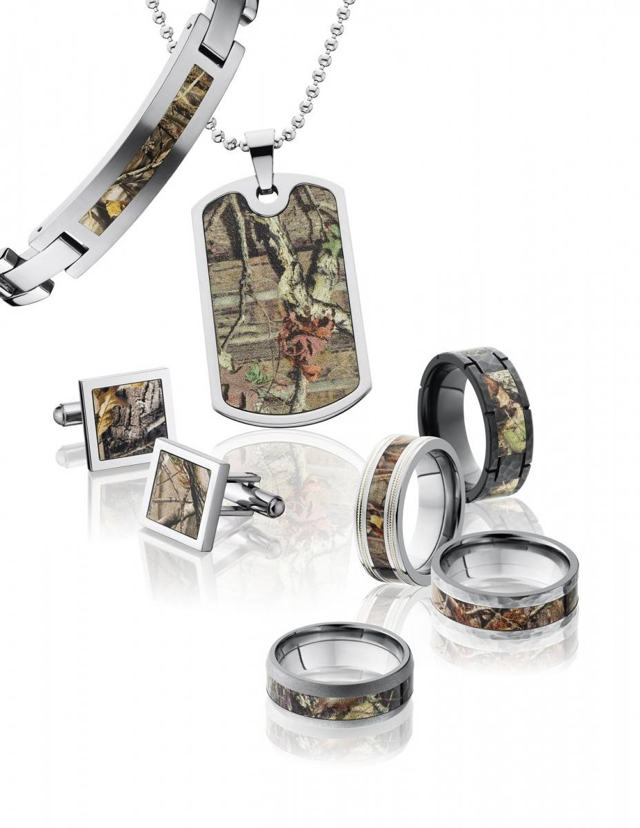 Best Camo Wedding Rings For Him And Her Within Camo Wedding Bands For Her (View 2 of 15)