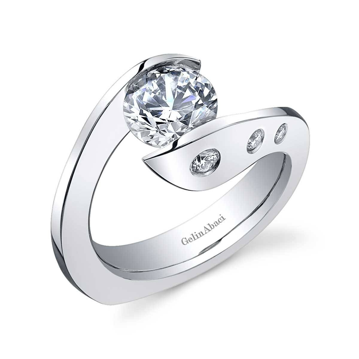 Best Contemporary Engagement Rings – Engagement Rings Depot Intended For Contemporary Wedding Rings (View 3 of 15)