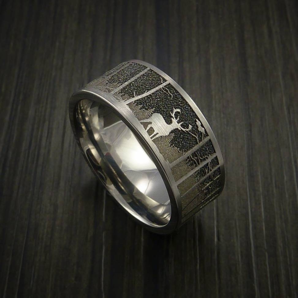 Featured Photo of Outdoorsman Wedding Bands