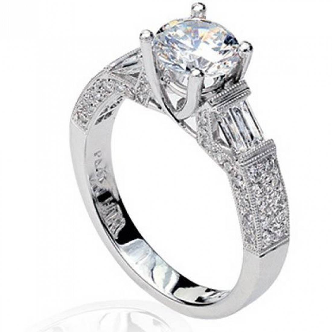 Best Semi Mount Diamond Engagement Rings – Engagement Rings Depot Pertaining To Engagement Mounts (View 4 of 15)