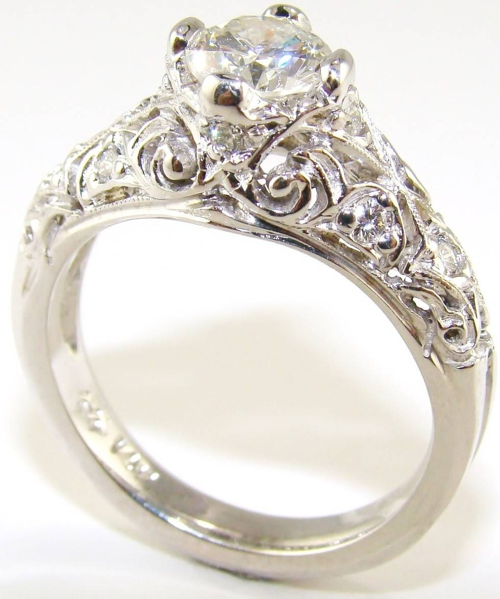 Best | Top | 5 Antique Engagement Rings Design For Events Inside Antique Wedding Rings For Women (View 5 of 15)