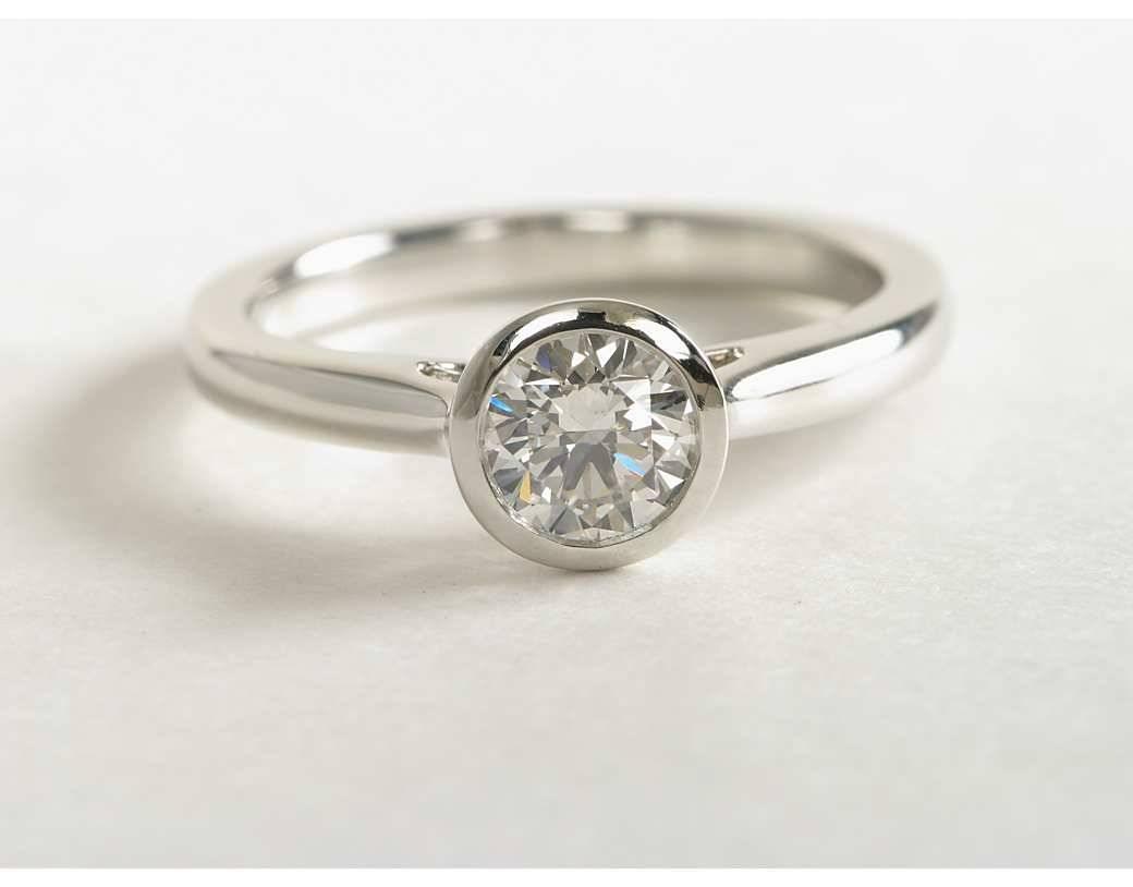 Bezel Set Wedding Rings – Jewelry Regarding Bezel Wedding Rings (View 9 of 15)