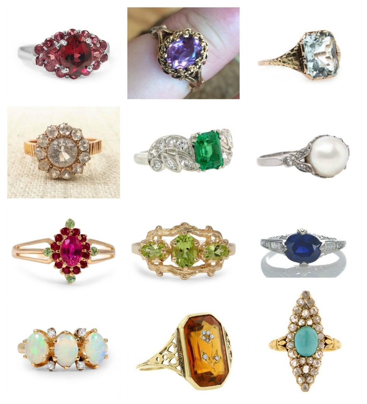 Birthstone Engagement Rings: Diamond Engagement Ring Alternatives Pertaining To June Birthstone Engagement Rings (Gallery 6 of 15)
