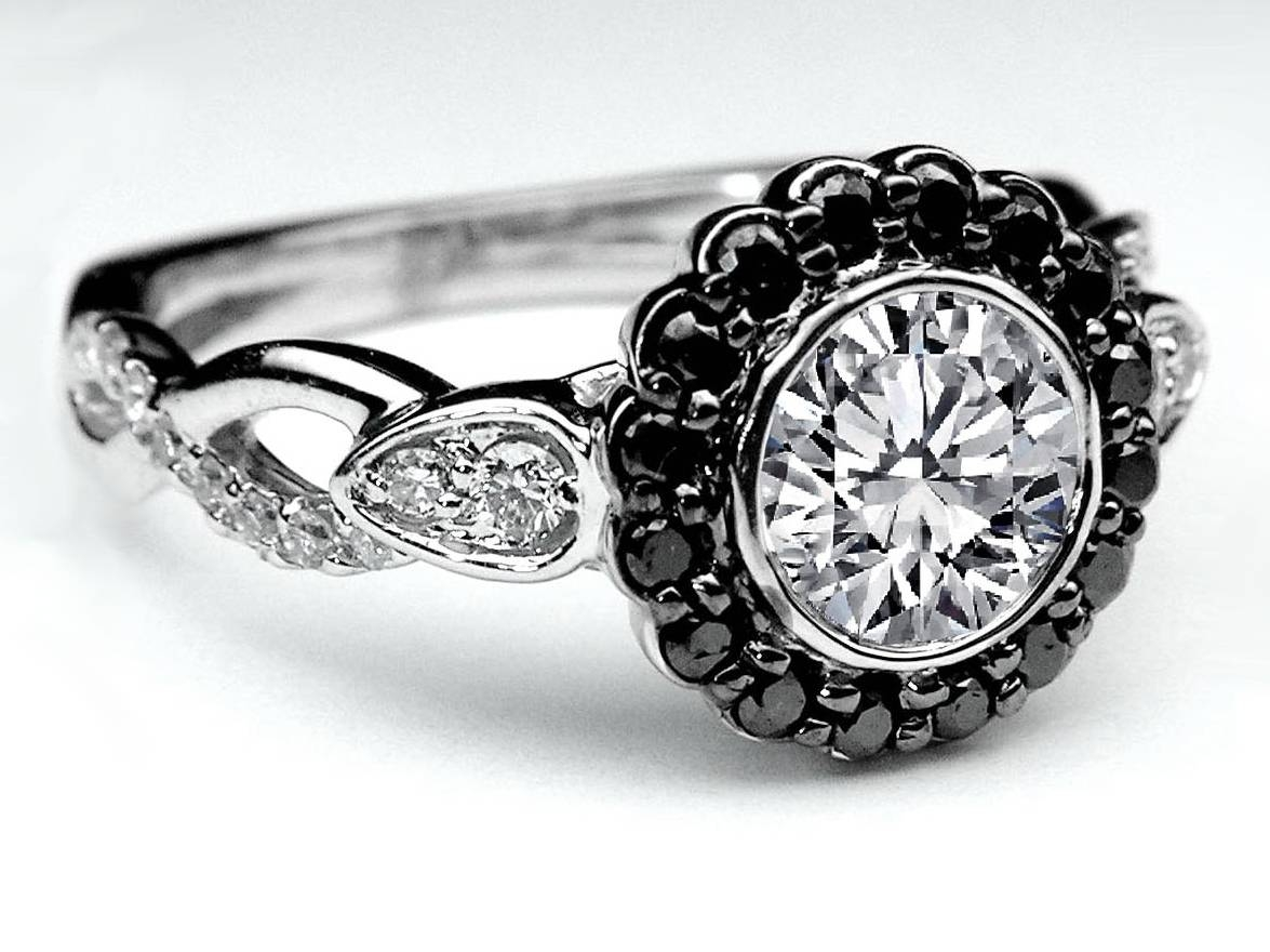 Black Diamond – Engagement Rings From Mdc Diamonds Nyc With Regard To Black Gold Diamond Wedding Rings (View 6 of 15)