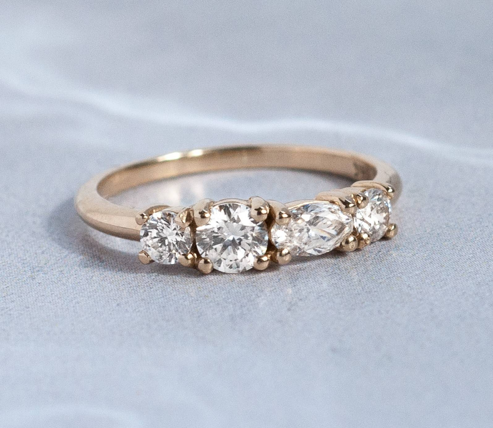 Bling In The New Year With Alternative Engagement Rings – Bario For Diamond Alternative Wedding Rings (View 4 of 15)
