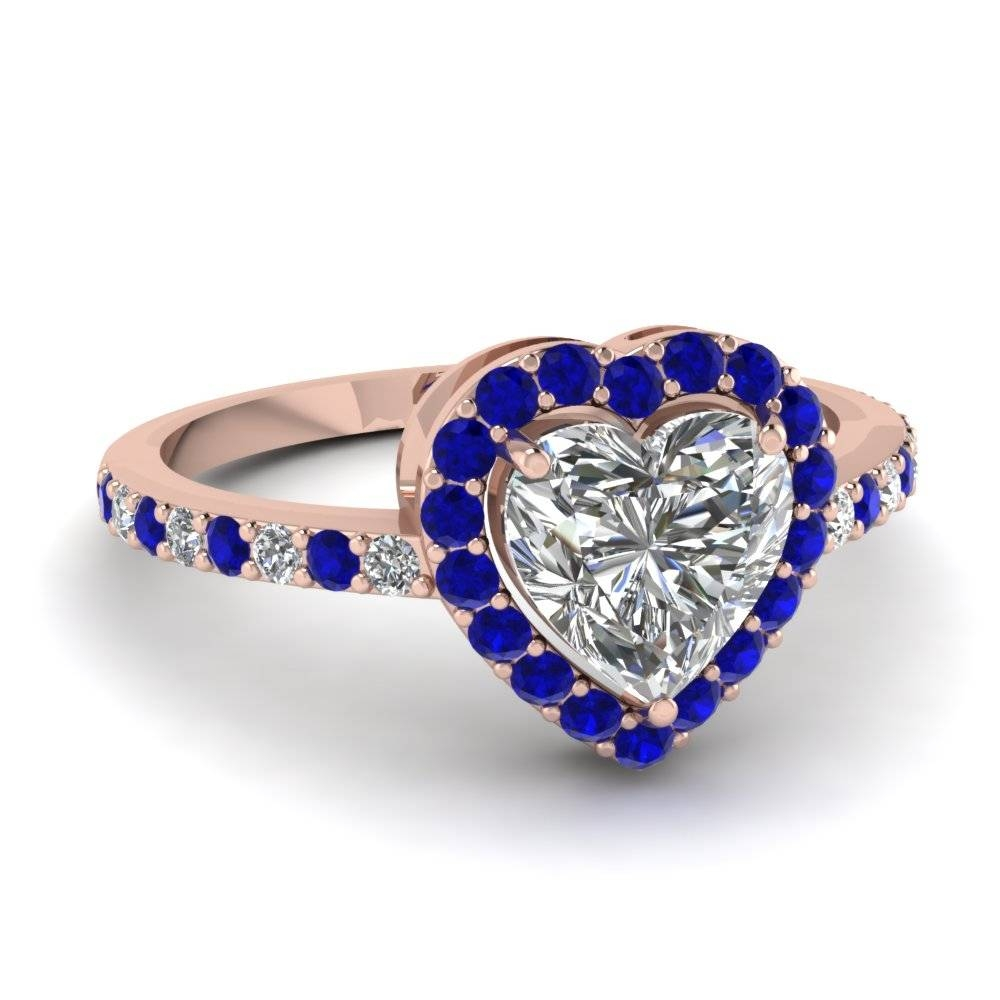 Blue Sapphire Engagement Rings | Fascinating Diamonds Within Sapphire Wedding Rings (View 7 of 15)