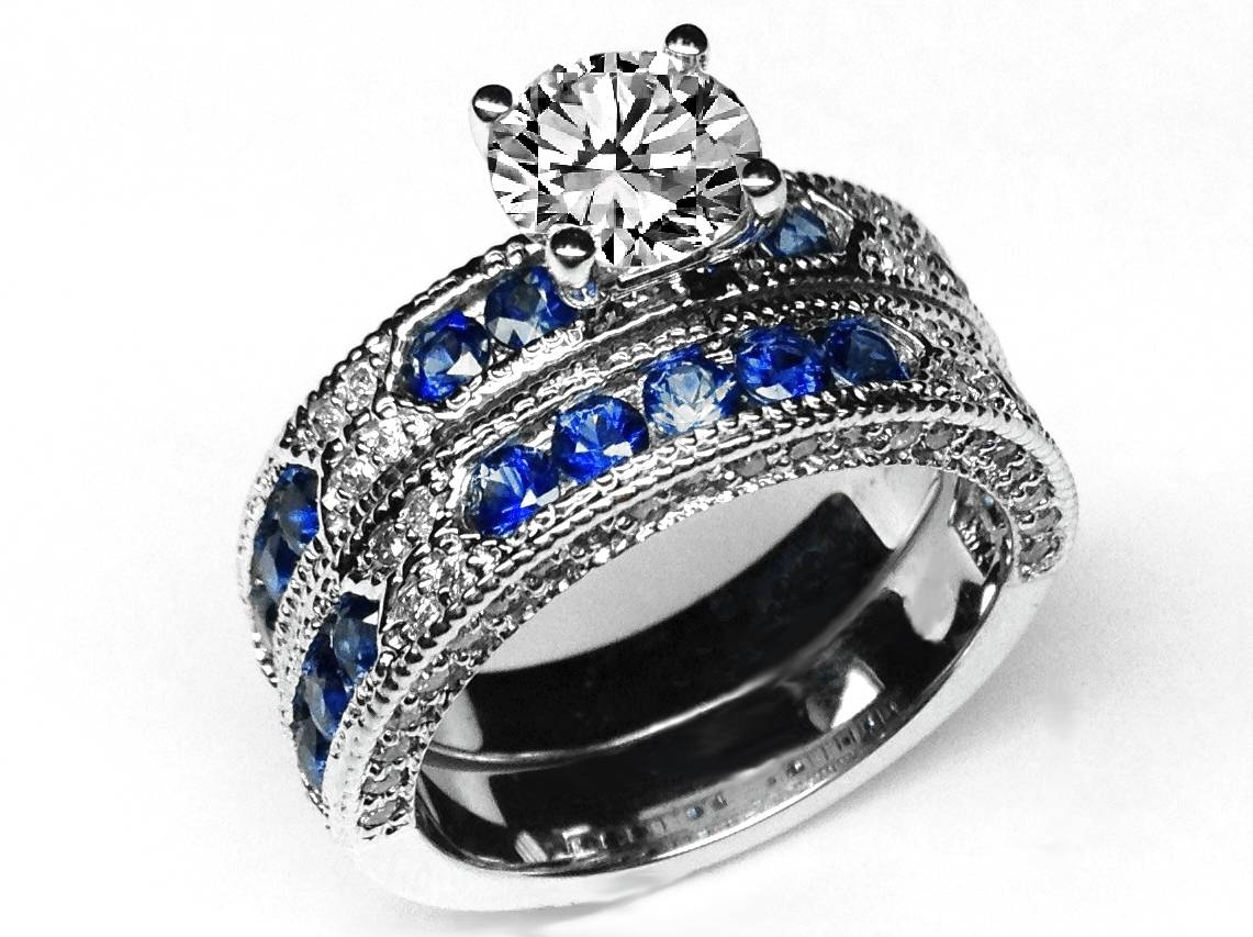 Blue Sapphire – Engagement Rings From Mdc Diamonds Nyc In Blue Sapphire Wedding Rings (View 6 of 15)