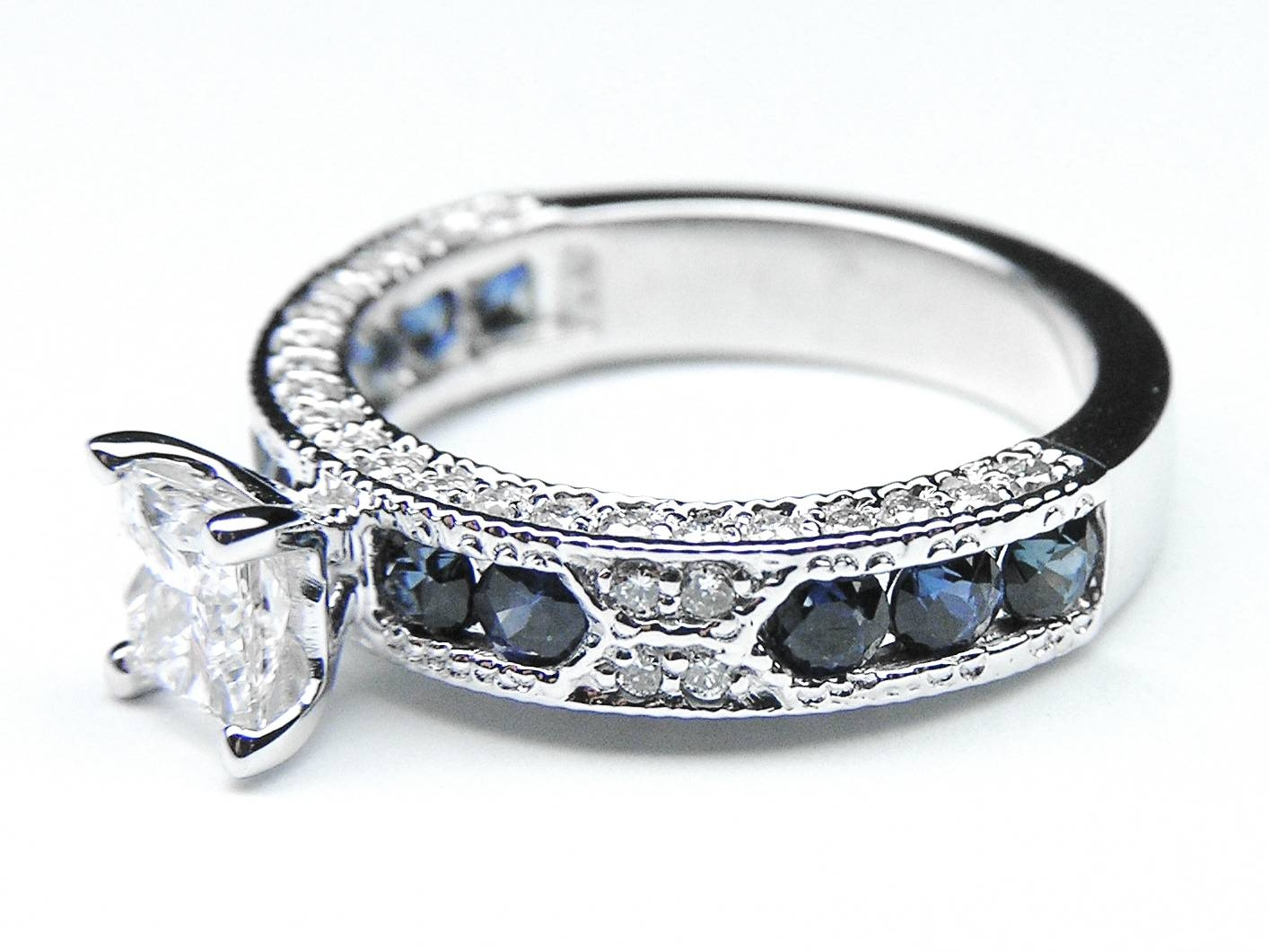 Blue Sapphire – Engagement Rings From Mdc Diamonds Nyc In Diamond And Sapphire Wedding Rings (View 3 of 15)